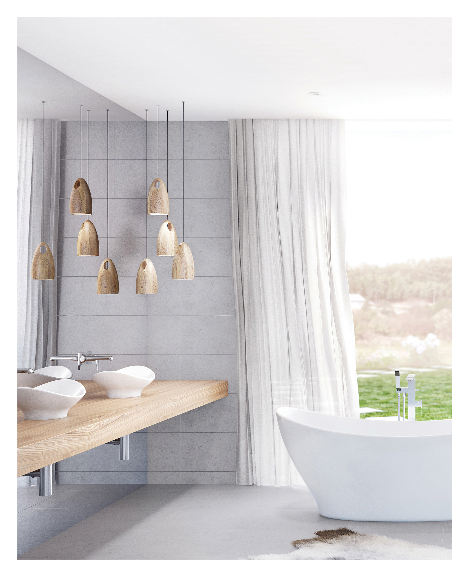 Research current Bathroom Trends